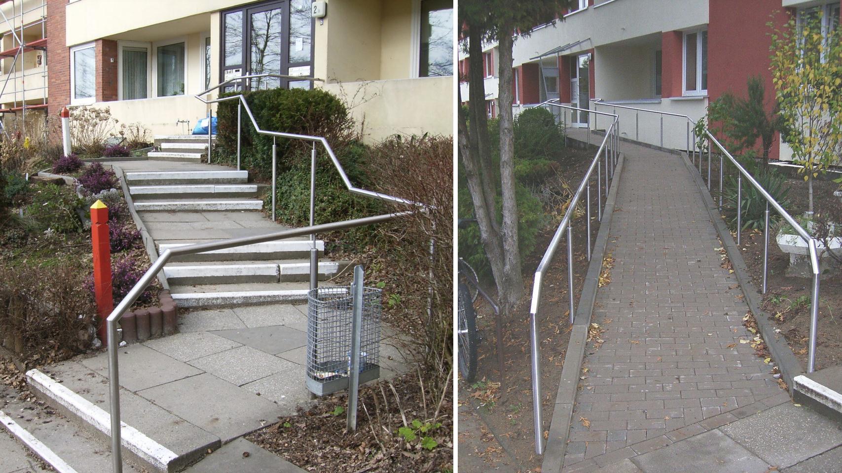 Ratgeber Behindertengerechter Zugang Ins Haus Schwellen