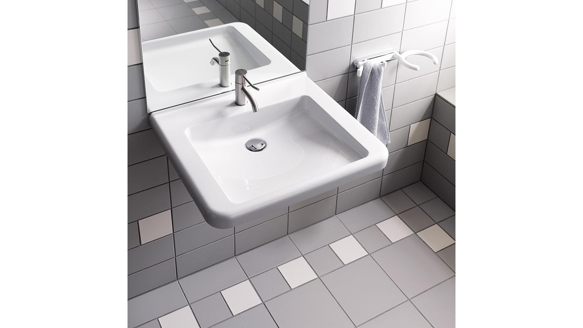 Geberit Waschtisch Anlagen Fur Die Barrierefreie Badgestaltung Online Wohn Beratung De